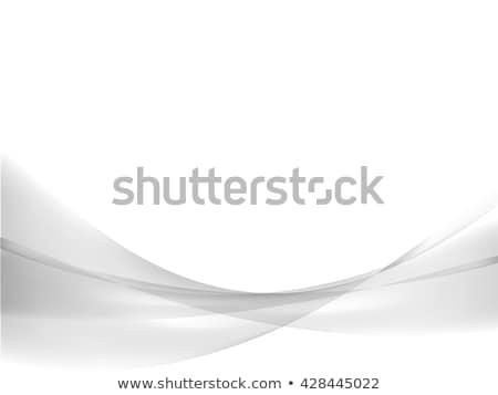 elegáns · szürke · hullámos · terv · háttér · hullám - stock fotó © sarts