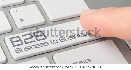 A keyboard with a labeled button - B2B Stock photo © Zerbor