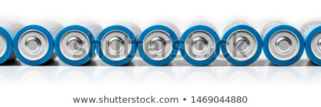 Batteries in a row Stock photo © IS2