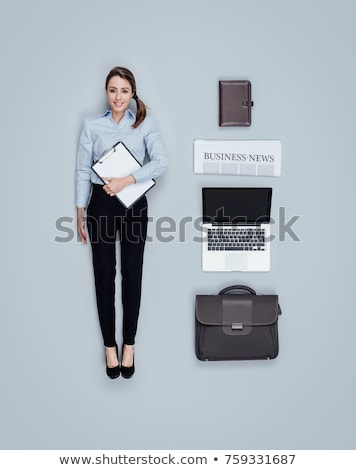 realistic business executive doll stock photo © stokkete