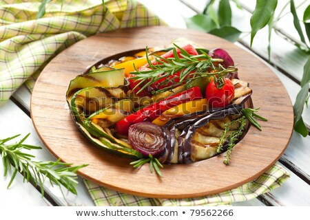 grilled vegetable and thyme Stock photo © M-studio