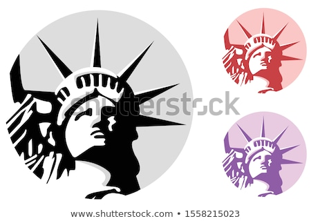 Lady Liberty or Libertas Mascot Stock photo © patrimonio
