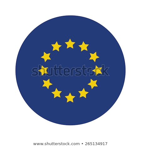 флаг · Европейское · сообщество · Гранж · кадр · синий · звездой - Сток-фото © daboost