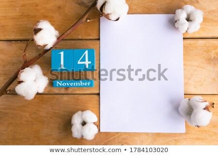 Stock photo: Cubes 14th November