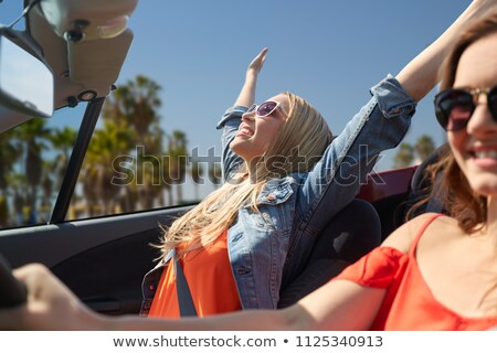 beautiful woman enjoying summer over venice beach Stock photo © dolgachov