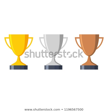 pedestal with gold cup and medals set stock photo © jossdiim