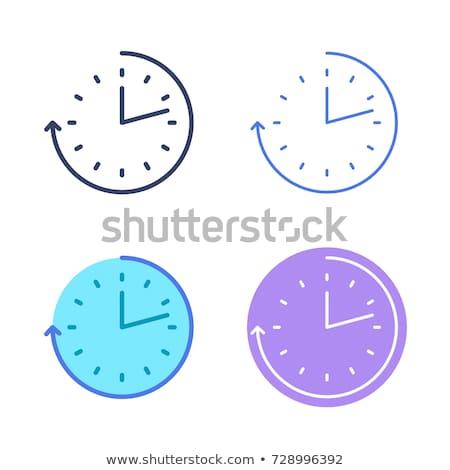 reloj · ver · colección · blanco · negro · oficina · arena - foto stock © kyryloff