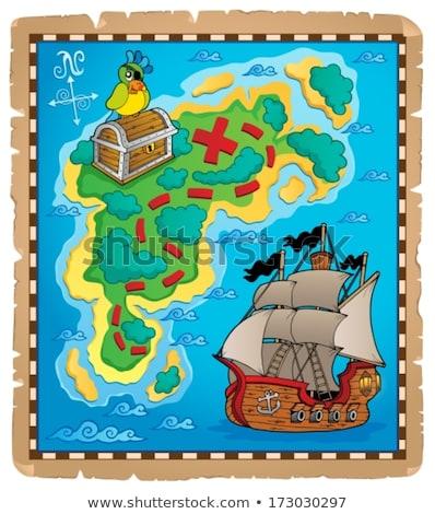 海賊 オウム トピック 水 海 ストックフォト © clairev