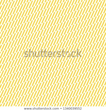 Yellow Diagonal strokes pattern. Dashes motif. Hatches background. Dashed wallpaper. Linear backdrop Stock photo © kyryloff