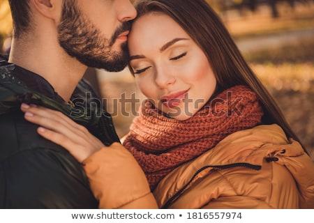 heureux · femme · saison · personnes - photo stock © dolgachov
