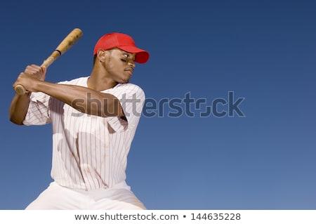 Afryki piłkarz ilustracja człowiek projektu tle Zdjęcia stock © colematt
