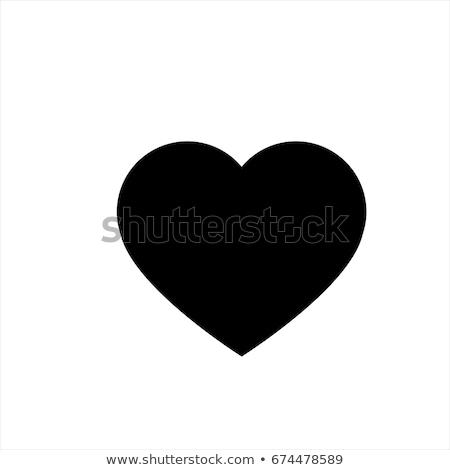 Coração ícone símbolo mães dia amor Foto stock © lemony