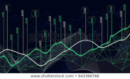 Infographics of exchange rates and quotes Stock photo © ConceptCafe