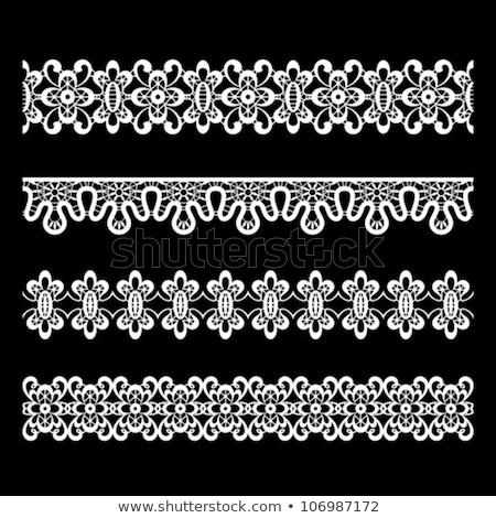 кружево вектора подробный ретро орнамент Сток-фото © RedKoala