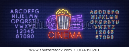 on-line · cinema · excelente · eps - foto stock © netkov1