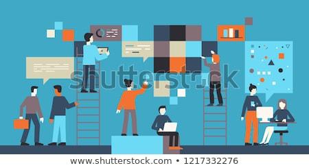 プログラミング 言語 コンピュータ 人 エンジン ストックフォト © RAStudio
