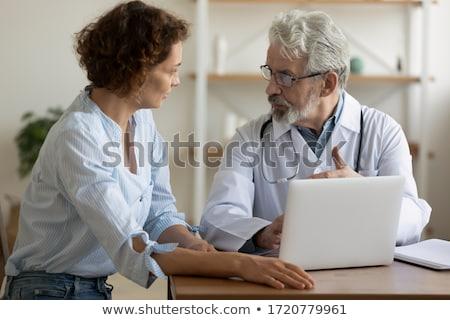 doktor · hemşire · tıbbi · kayıtlar · takım - stok fotoğraf © snowing