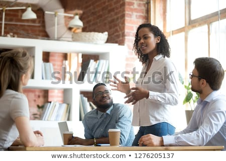 Female Business Intern at Workplace Stock photo © pressmaster