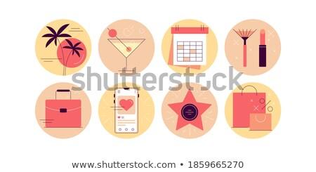 roze · bezoeker · telefoon · kantoor · internet · telefoon - stockfoto © robuart