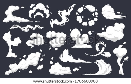 Cartoon explosion effect with smoke. Effect boom, explode flash, bomb comic book, vector illustratio Stock photo © Designer_things