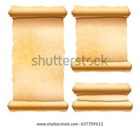 Oude papyrus verschillend Stockfoto © evgeny89