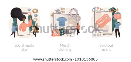 Sold-out event abstract concept vector illustration. Stock photo © RAStudio