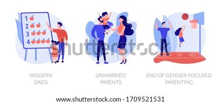 Befejezés gyereknevelés absztrakt nem érzékeny semleges Stock fotó © RAStudio