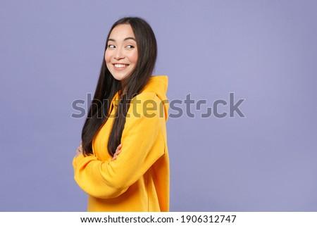 Portret młodych oszałamiający kobieta strona stwarzające Zdjęcia stock © get4net