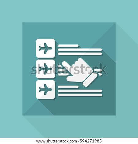 Airline Costs Сток-фото © Myvector