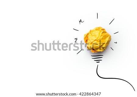 bright idea Stock photo © jayfish