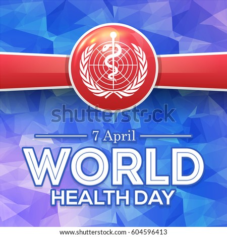 World health day for greeting card Caduceus medical symbol prese Stock photo © bharat