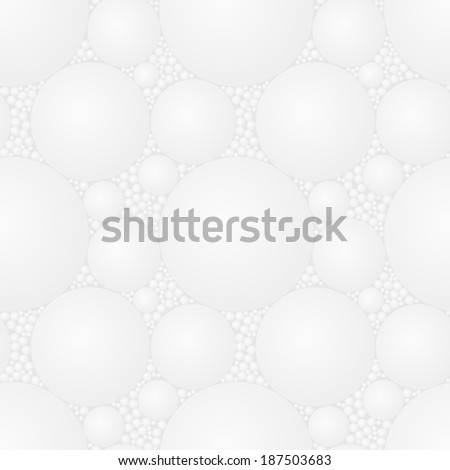 Vector seamless square light gray styrofoam pattern - abstract t Stock photo © pzaxe