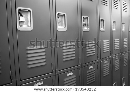 Student uczelni szkoły kampus korytarzu przechowywania Zdjęcia stock © cboswell