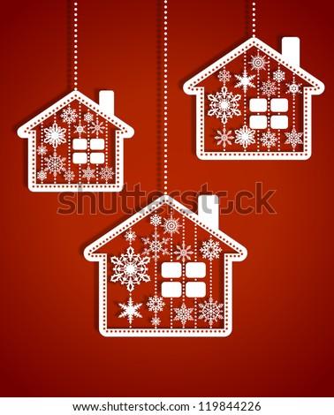 Рождества новых лет три игрушками Сток-фото © AntonRomanov