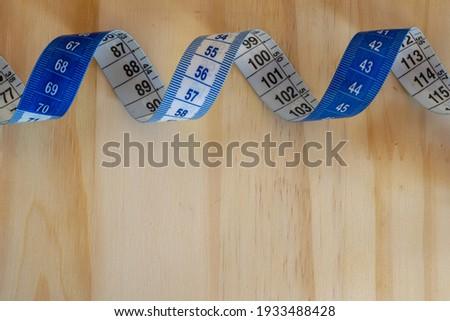 Work word on cm ruler Stock photo © fuzzbones0