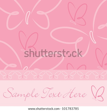 All occasion butterfly card in vector format. Stock photo © piccola