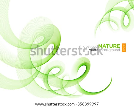 Smooth wave stream line abstract header layout. Vector illustration Stock photo © fresh_5265954