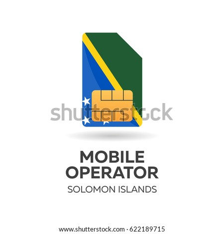 мобильных оператор карт флаг аннотация Сток-фото © Leo_Edition