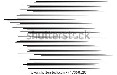 Comic Speed Lines Vector. Graphic Explosion Of Speed Lines. Comic Book Design Element. Manga Speed F Stock photo © pikepicture