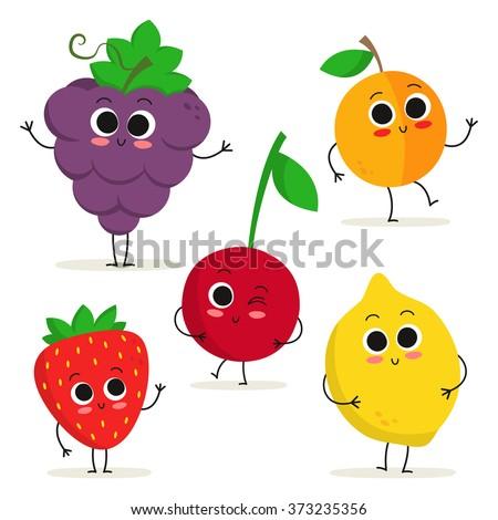 Sorridente morango fruto mascote óculos de sol Foto stock © hittoon