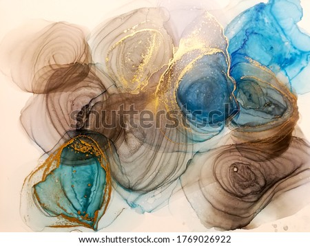 art abstract painting picture with rainbow colorful colors on background template design for web an stock photo © linetale
