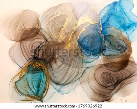 kunst · abstract · schilderij · foto · regenboog · kleurrijk - stockfoto © linetale