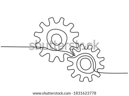 Trois linéaire icône symbole Photo stock © kyryloff