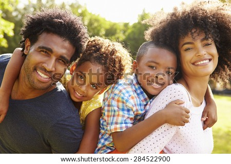 Portret gelukkig afro-amerikaanse vader dochter zoenen Stockfoto © wavebreak_media