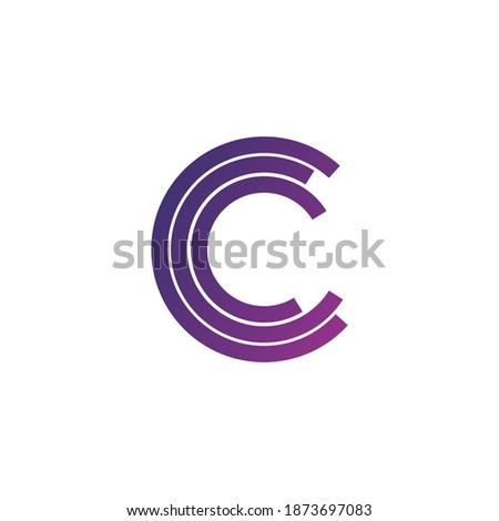Schreiben logo Symbol Mosaik Design-Vorlage Element Stock foto © kyryloff