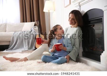 детей внутренний атмосфера счастливым мало женщины Сток-фото © vkstudio
