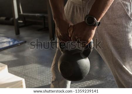 Senior Mann Stock foto © wavebreak_media
