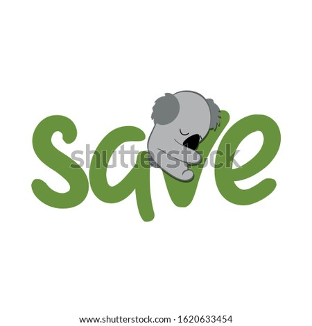 сохранить Koala поддержки живая природа люди время Сток-фото © Zsuskaa