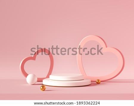 Valentijnsdag verkoop romantische harten witte viering Stockfoto © ikopylov