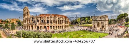 арки Колизей Рим Италия север сторона Сток-фото © Zhukow